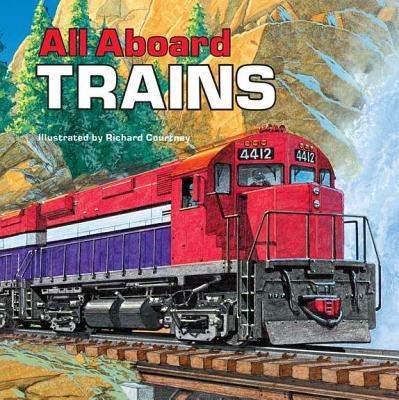 All Aboard Trains By Harding, Mary/ Courtney, Richard (ILT)